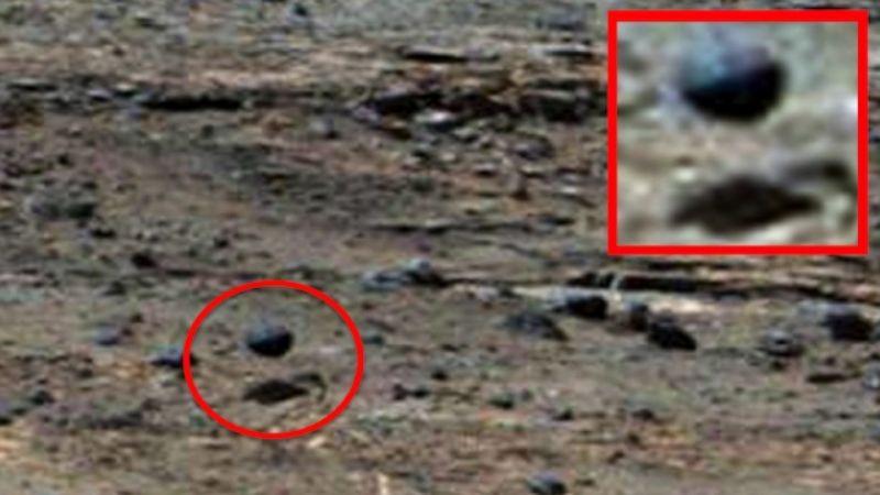На Марсе обнаружена левитирующая сфера: опубликовано фото