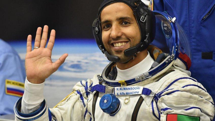 У арабского космонавта увеличилась голова: ученые объяснили феномен
