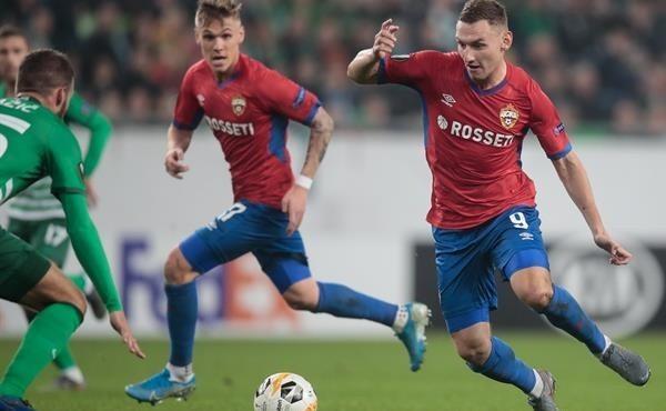ЦСКА заработал первое очко в Лиге Европы