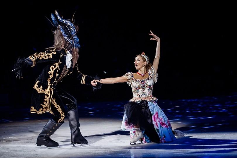 В ледовом шоу Татьяны Навки «Аленький цветочек» поучаствуют звезды фигурного катания