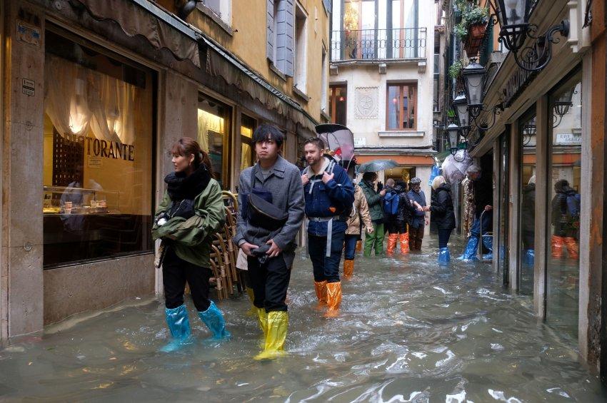Наводнение в Венеции 13 ноября 2019 года стало рекордным за последние 40 лет