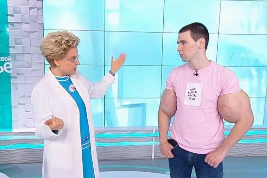 По последним новостям Кирилл Терешин сделал операцию на «руках-базуках»