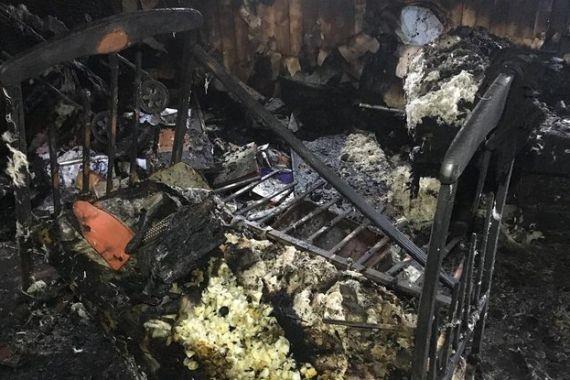 На Сахалине мужчина зарезал друзей и сжег дом с трупами