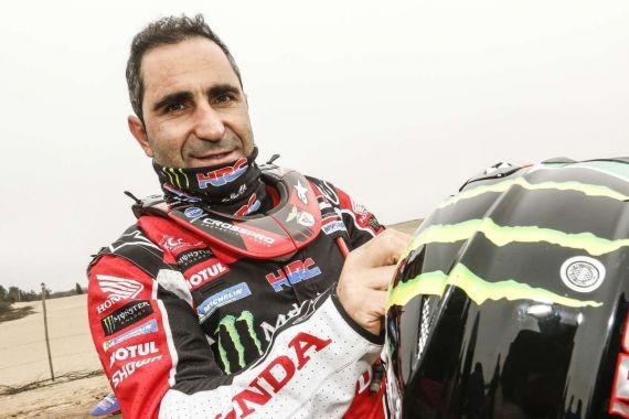Португальский мотогонщик Гонсалвеш погиб в ходе седьмого этапа ралли «Даккар»