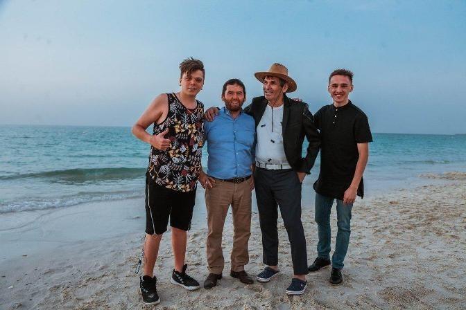 Татарские встречи на берегу Персидского Залива: Мой гость - Элвин Грей