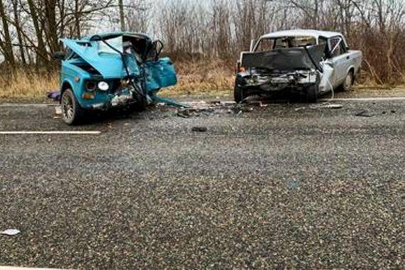 В Краснодарском крае три человека погибли в лобовом ДТП