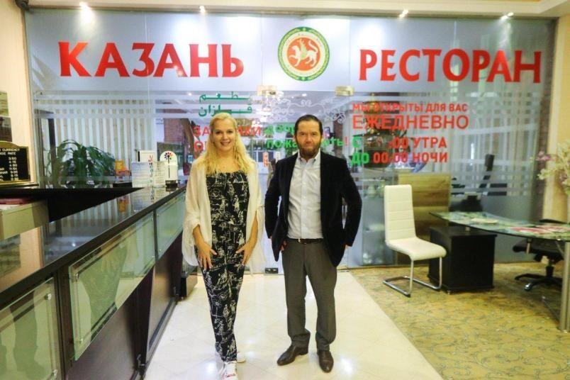 Встречи на берегу Персидского Залива: Мария Порошина и Ярослав Бойко