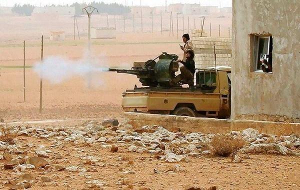 Боевики продолжают обстреливать сирийский город Алеппо