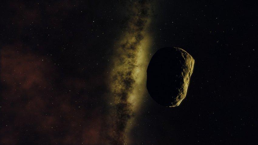 В Солнечной системе обнаружен очень странный астероид