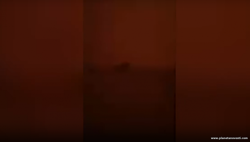 Пугающее зрелище: австралийский город накрыла гигантская пыльная буря