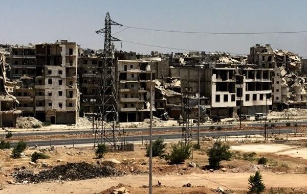Боевики обстреляли детский сад и мечеть сирийском Алеппо