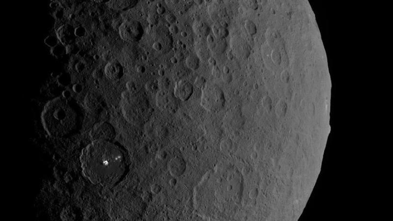 На Церере обнаружили структуры искусственного происхождения