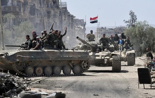 Сирийская армия провела успешную операцию в Алеппо