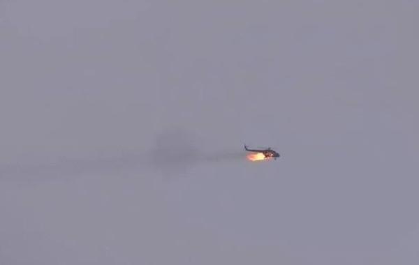 Вертолет сирийской армии оказался сбит ракетой