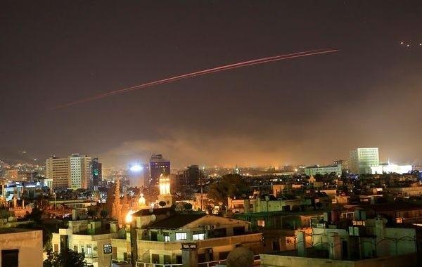 Столица Сирии подверглась мощной ракетной атаке