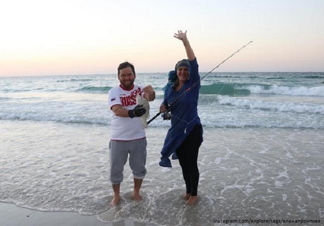 Встречи на берегу Персидского Залива: Елена Проклова