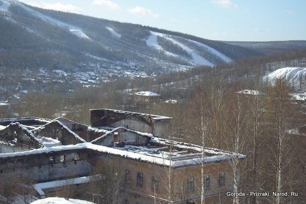 ТОП-25 заброшенных городов России