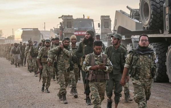 Турецкие военные начали отвод войск из Сирии