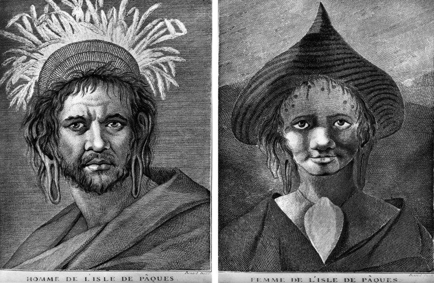 """Как """"цивилизованная"""" Европа погубила народ острова Пасхи"""