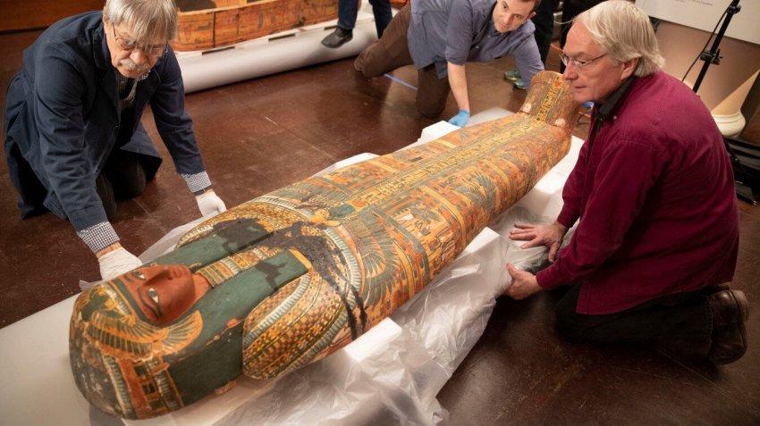 В 3000-летнем египетском саркофаге обнаружили скрытое послание