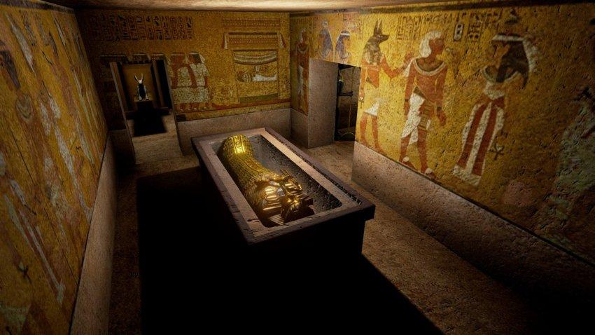 В гробнице Тутанхамона, возможно, нашли могилу Нефертити