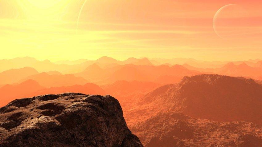 Специалисты НАСА считают, что под поверхностью Марса есть жизнь