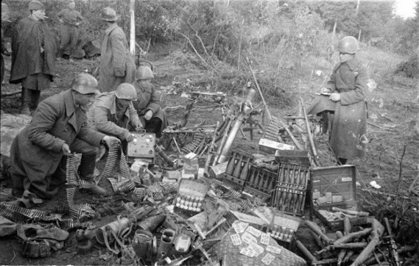 Зачем советские солдаты подбирали немецкие пулеметные ленты во время войны?