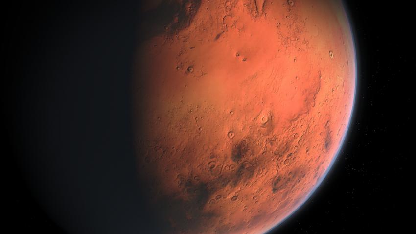 На Марсе обнаружена странная магнитная зона