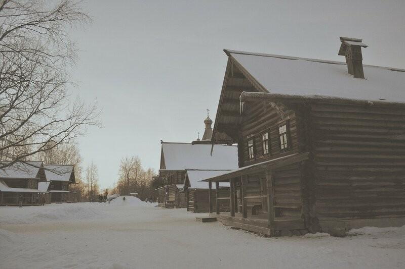 Великий Новгород, Витославлицы, музей деревянного зодчества под открытым небом