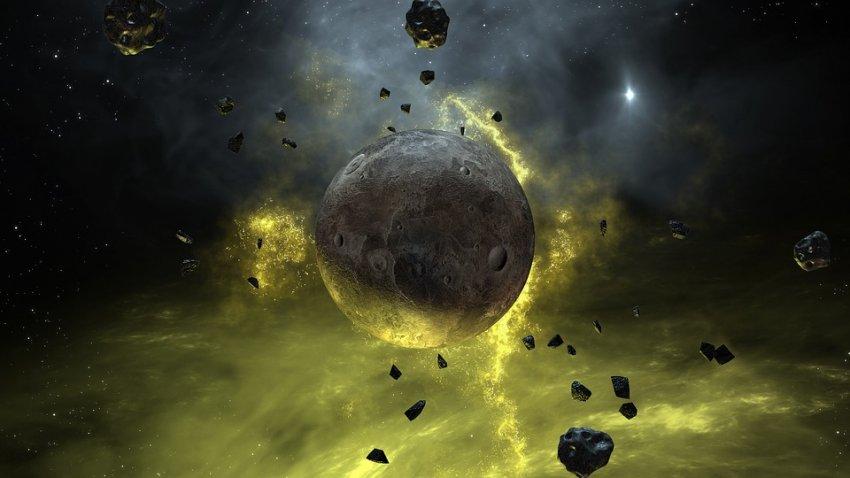 Ученые обнаружены следы Тейи – протопланеты, которая столкнулась когда-то с Землей