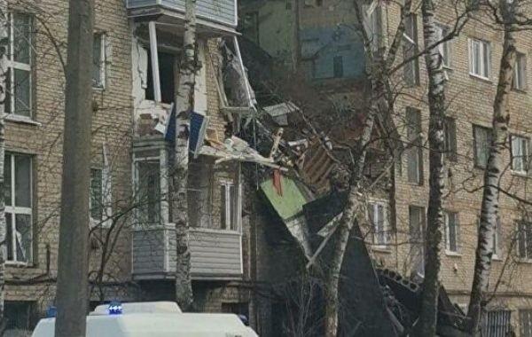 Взрыв прогремел в жилом доме в Подмосковье