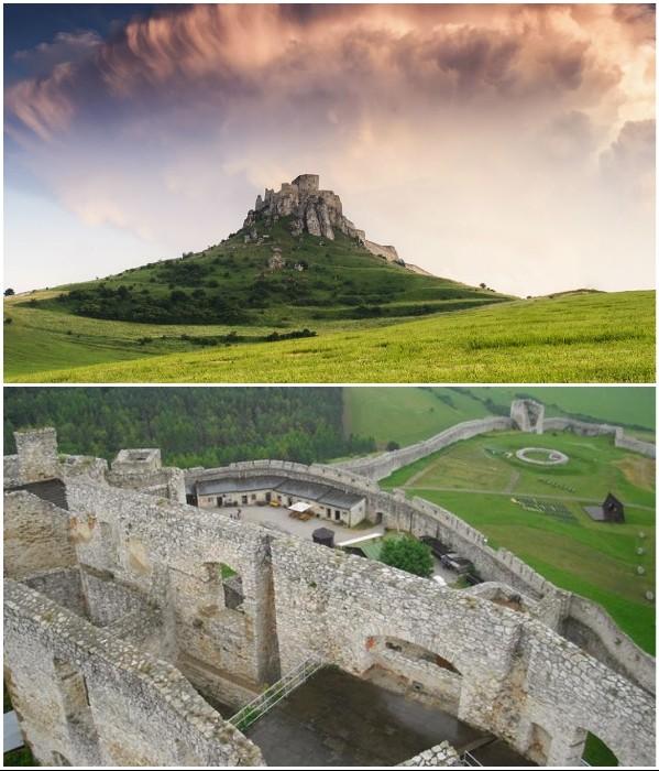 ТОП-7 конструкций старинных замков до их превращения в руины