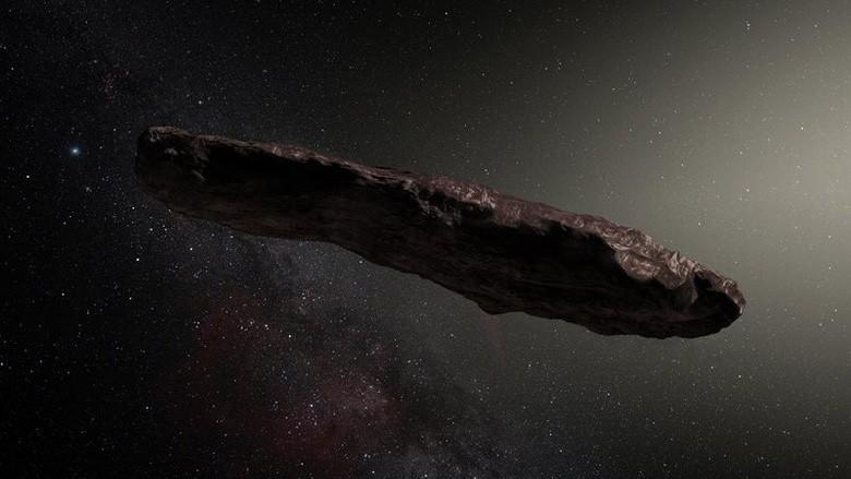 Китайские ученые раскрыли загадку «инопланетного зонда» Оумуамуа