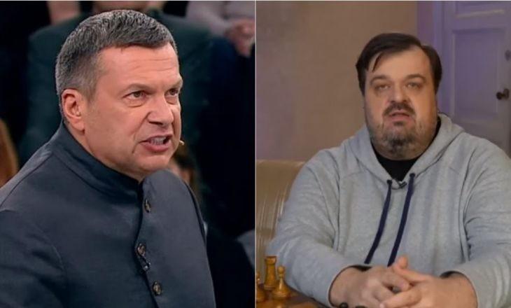 Василий Уткин резко высказался в сторону Владимира Соловьева
