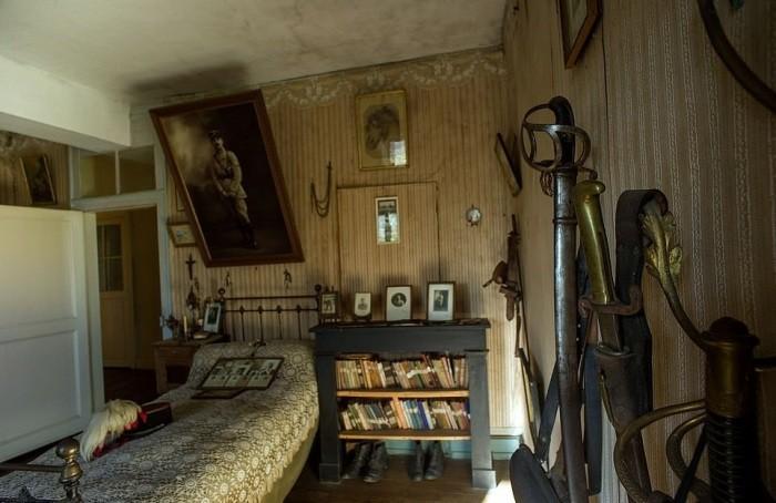 Обнаружена замурованная комната офицера, погибшего 100 лет назад