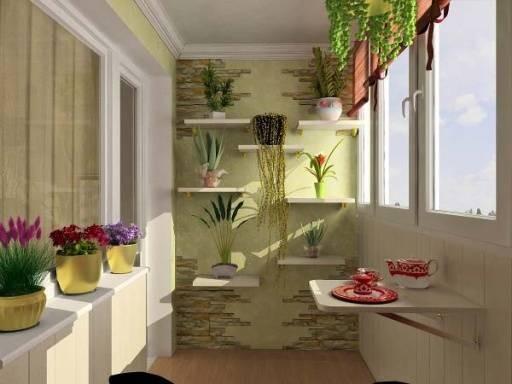 Карантин можно провести с пользой: время переоборудовать балкон