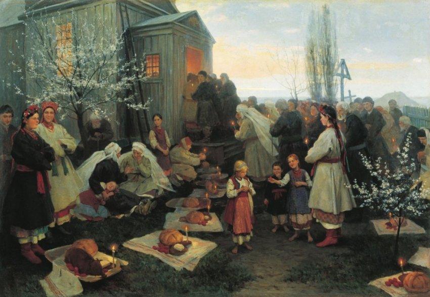 Главные пасхальные традиции на Руси