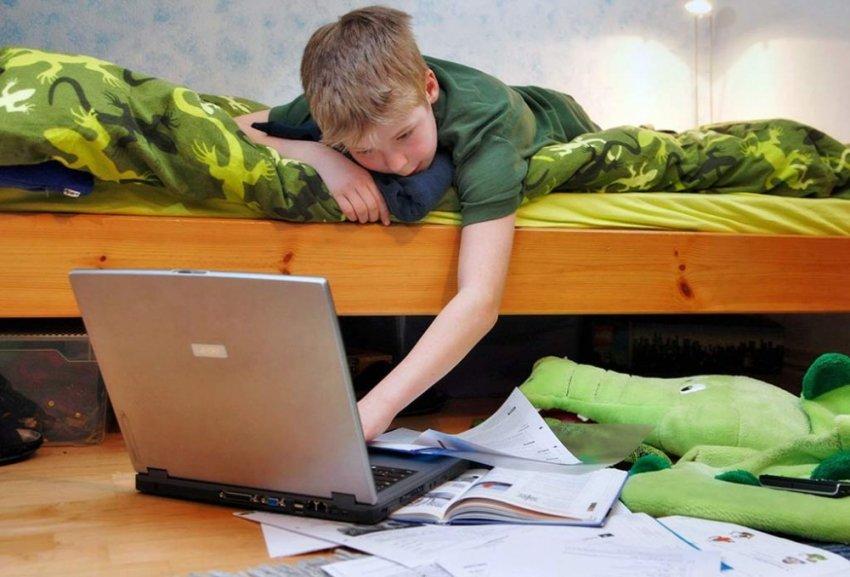 Дистанционное обучение как детское издевательство