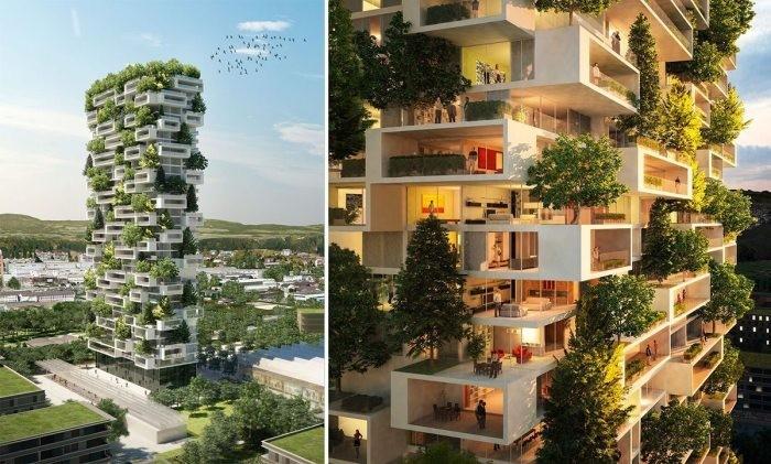 ТОП-7 технологий по вертикальному озеленению зданий