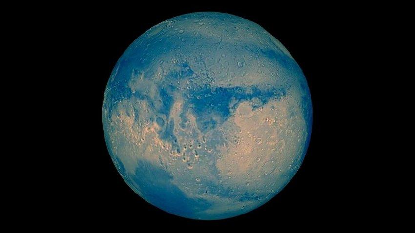 В прошлом Марс был «голубой планетой»: один метеорит позволил ученым выяснить всю правду