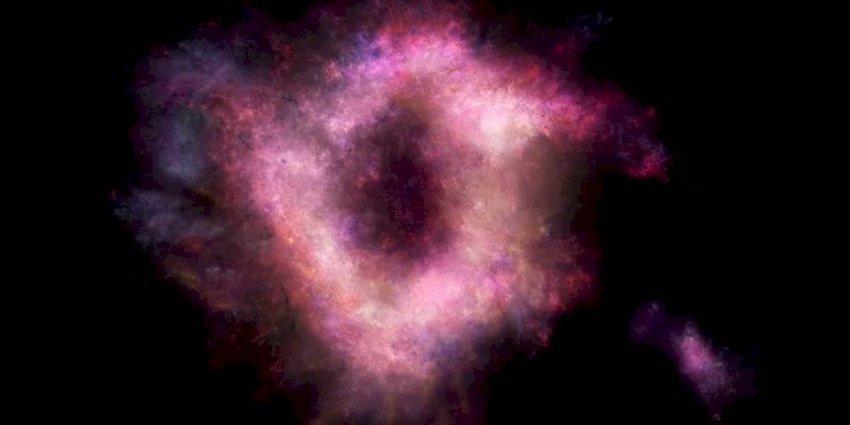 Астрономы обнаружили галактику, которая похожа на гигантский пончик