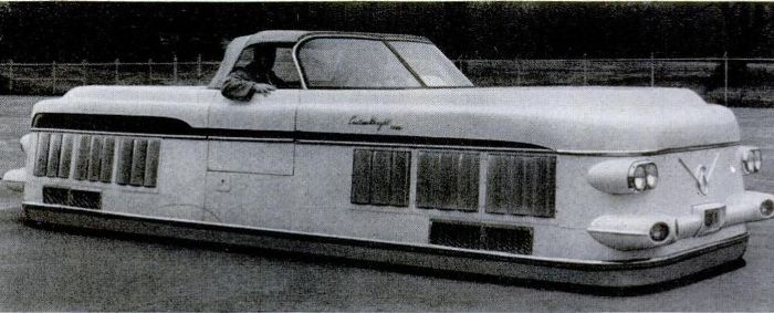 Красивый - не значит рациональный: советский автомобиль на воздушной подушке