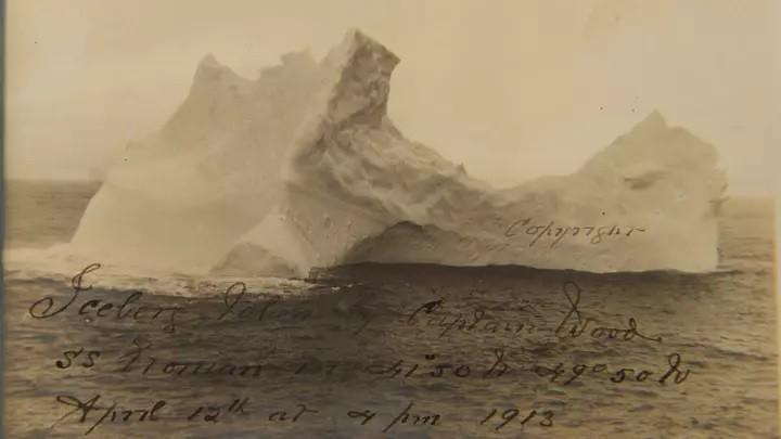 Через 108 лет нашли фото айсберга, который стал причиной крушения Титаника