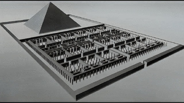 Египетский лабиринт невозможно воспроизвести - греческий историк