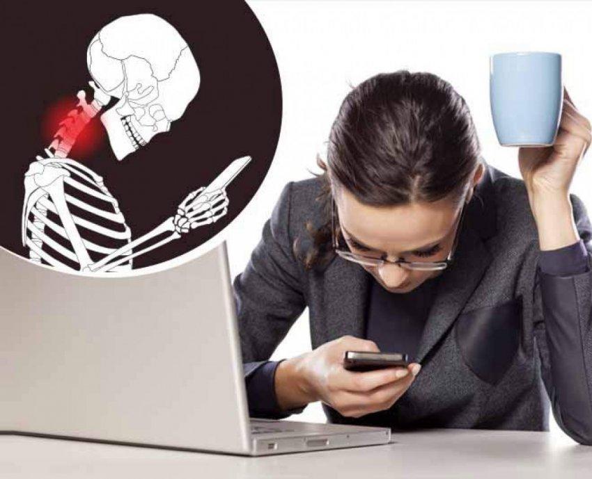 Селфи-запястье, компьютерный горб и другие заболевания от гаджетов