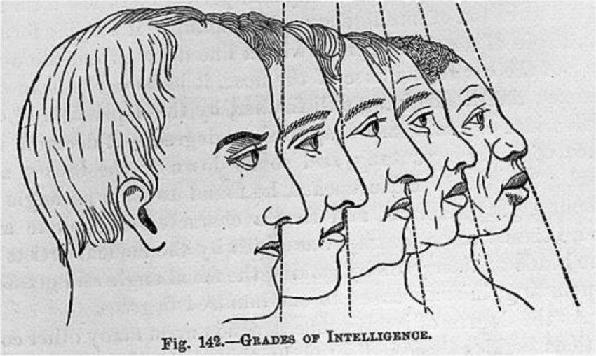 Старая и новая френология: Распознавание лиц по размеру и форме черепа