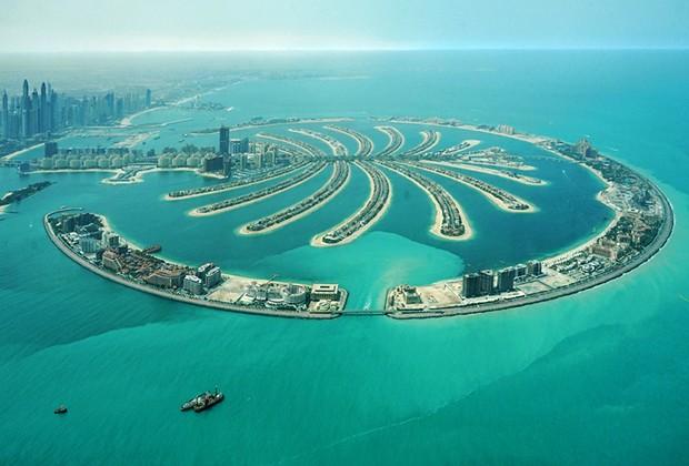 Плавучие города - престиж богатых. Искусственные острова из всего мира