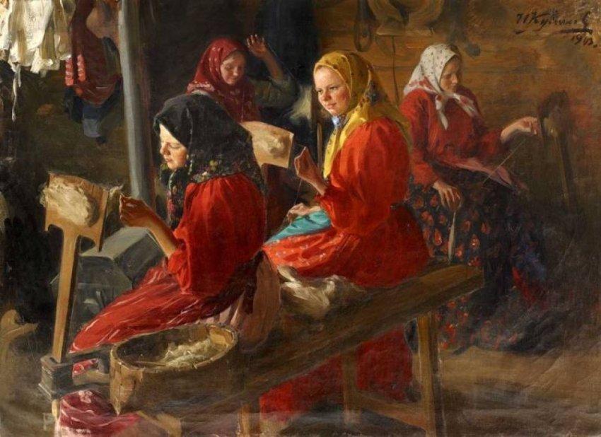 Русское рукоделие как искусство в экспозиции музеев