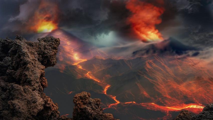 Во всем мире усилилась вулканическая активность: на данный момент извергаются 26 вулканов и фиксируются сотни землетрясений