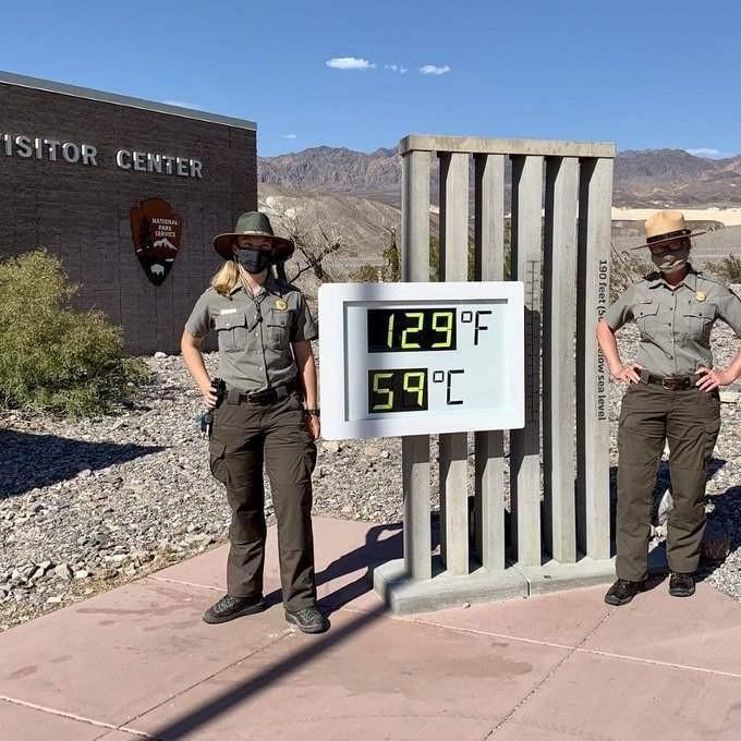 В мире аномальная жара: столбики термометров показывают +53 и выше